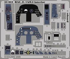 Eduard-Models Aircraft- BAE F1A/F3 Interior Plastic Model Aircraft Accessory 1/32 Scale #33031