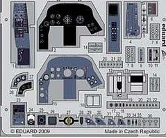 Eduard-Models Aircraft- BAC Lightning F2A Interior Plastic Model Aircraft Accessory 1/32 Scale #33044