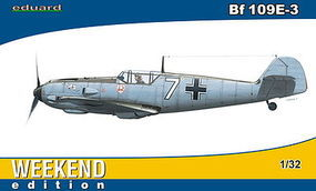 Eduard-Models Bf109E3 1/JG2 Fighter Germany 1940 Plastic Model Airplane Kit 1/32 Scale #3402