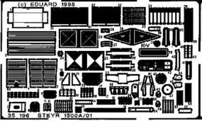 Eduard-Models Armor- Steyr 1500A/01 Plastic Model Vehicle Accessory 1/35 Scale #35196
