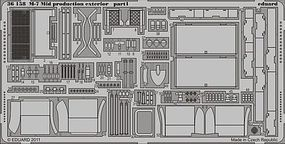 Armor- M7 Mid Prod Exterior Plastic Model Vehicle Accessory 1/35 Scale #36158