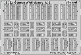 Eduard-Models 1/35 Armor- German Clamps WWII