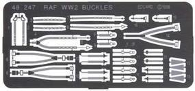 Eduard-Models Photo Etch Seatbelts RAF WWII Plastic Model Aircraft Decal 1/48 Scale #48247