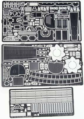Eduard Models Photo Etch Set B-25J Mitchell -- Plastic Model Aircraft Decal -- 1/48 Scale -- #48261