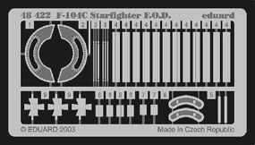 Eduard-Models Aircraft- F104C Starfighter F.O.D. Plastic Model Aircraft Accessory 1/48 Scale #48422