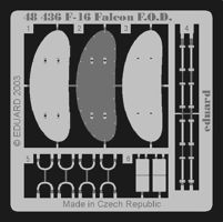 Eduard-Models Aircraft- F16 Falcon F.O.D. Plastic Model Aircraft Accessory 1/48 Scale #48436