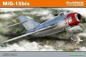 Eduard-Models Mig15 bis Aircraft Plastic Model Airplane Kit 1/72 Scale #7056