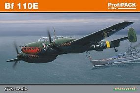 Bf110E Fighter (Profi-Pack) Plastic Model Airplane Kit 1/72 Scale #7083