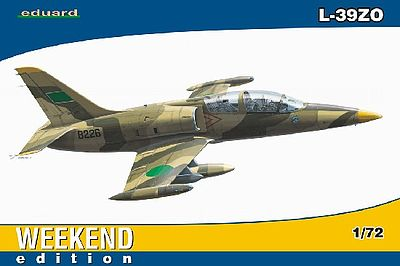 Eduard Models L39ZO Aircraft (Weekend Edition) -- Plastic Model Airplane Kit -- 1/72 Scale -- #7416