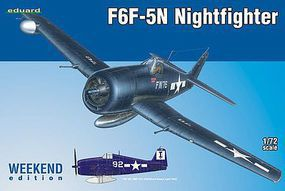 Eduard-Models F6F5N Nightfighter (Wkd Edition Plastic Kit) 1/72 Plastic Model Airplane #7434