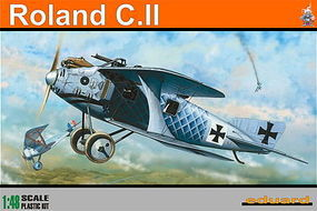 Eduard-Models Roland CII German BiPlane (Profi-Pack) Plastic Model Airplane Kit 1/48 Scale #8043