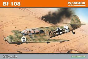 Eduard-Models Bf108B Fighter (Profi-Pack Plastic Kit) Plastic Model Airplane 1/48 Scale #8078