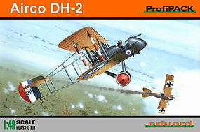 Eduard-Models Airco DH2 BiPlane (Profi-Pack) Plastic Model Airplane Kit 1/48 Scale #8094