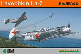 Eduard-Models Lavochkin La7 Fighter (Profi-Pack) Plastic Model Airplane Kit 1/48 Scale #8098