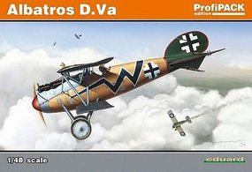 Eduard-Models Albatros D Va BiPlane (Profi-Pack) Plastic Model Airplane Kit 1/48 Scale #8111