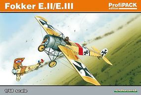 Eduard-Models Fokker E II/III Eindecker Aircraft Plastic Model Airplane 1/48 Scale #8156
