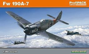 Eduard-Models Fw190A7 Fighter (Profi-Pack) Plastic Model Airplane Kit 1/48 Scale #8172