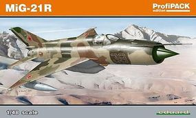 Eduard-Models MiG21R Fighter (Profi-Pack) Plastic Model Airplane Kit 1/48 Scale #8238