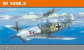 Eduard-Models Bf109E3 Fighter (Profi-Pack) Plastic Model Airplane Kit 1/48 Scale #8262