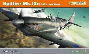 Eduard-Models Spitfire Mk IXc Late Version Aircraft Plastic Model Airplane Kit 1/48 Scale #8281