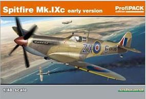 Eduard-Models Spitfire Mk IXc Early Aircraft (Profi-Pack) Plastic Model Airplane Kit 1/48 Scale #8282