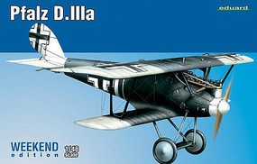 Eduard-Models Pfalz D IIIa BiPlane Plastic Model Airplane Kit 1/48 Scale #8417