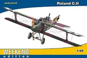 Eduard-Models Roland C II BiPlane Fighter (Weekend Edition) Plastic Model Airplane Kit 1/48 Scale #8445