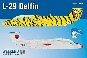 Eduard-Models 1/48 L29 Delfin Aircraft (Weekend Edition Plastic Kit)
