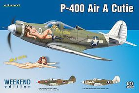 Eduard-Models P400 Air A Cuttie Aircraft (Weekend Edition Kit) Plastic Model Airplane 1/48 Scale #8472