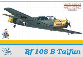 Eduard-Models Bf108B Taifun 4(H)/13 Fighter Romania 1940 Plastic Model Airplane Kit 1/48 Scale #8477
