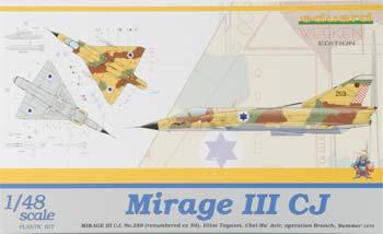 Eduard-Models Mirage III CJ No.259 Fighter (Weekend Edition) Plastic Model Airplane Kit 1/48 Scale #8494