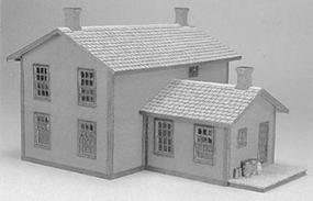 Evergreen-Hill Section house HO-Scale