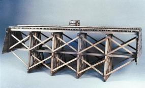 Evergreen-Hill Gully trestle - HO-Scale