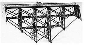 Evergreen-Hill Wood ravine trestle - HO-Scale