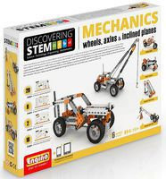 Elenco Discovering STEM Education Series- Mechanics Wheels, Axles & Inclined Planes Set