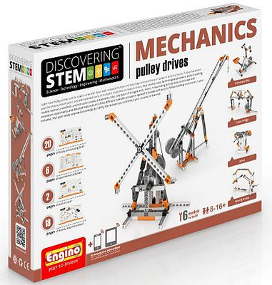 Elenco Electronics Discovering STEM Education Series- Mechanics Pulley Drives Set