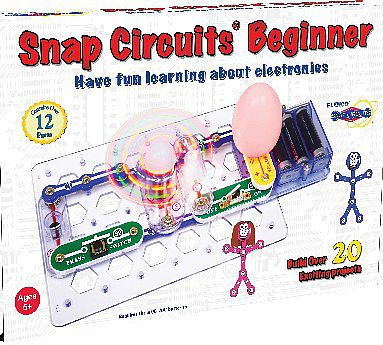 Elenco Electronics Beginner Electronic Snap Circuits Kit