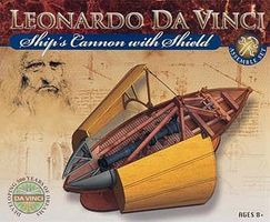 Elenco DaVinci Ships Cannon w/Shield