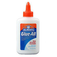 Elmers 7.5oz WHITE GLUE 6x4.00