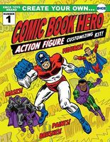 Emce 4 Create Your Own Comic Book Hero Customizing Kit