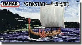 Emhar-squadron 1/72 9th Century Gokstad Viking Ship