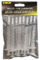 Enkay 3ml Multi-Use Straight Tip Syringes (8) (Bagged)