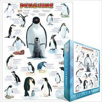 EuroGraphics Penguins Collage (1000pc) Jigsaw Puzzle 600-1000 Piece #44000