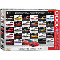 EuroGraphics Corvette Evolution 1000pcs Jigsaw Puzzle 600-1000 Piece #6000-0683