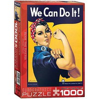 EuroGraphics Rosie/Howard Miller 1000pcs Jigsaw Puzzle 600-1000 Piece #6000-1292