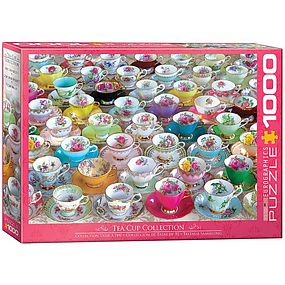 EuroGraphics Tea Cups Collection 1000pcs