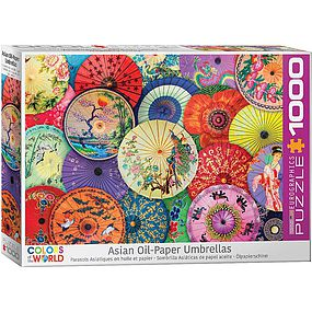 EuroGraphics Asian Oil-Paper Umbrellas 1000pcs