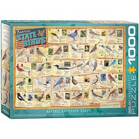 EuroGraphics State Birds 1000pcs