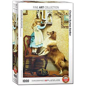 EuroGraphics Little Girl and Her Sheltie 1000pcs
