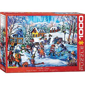 EuroGraphics Snow Day 1000pcs